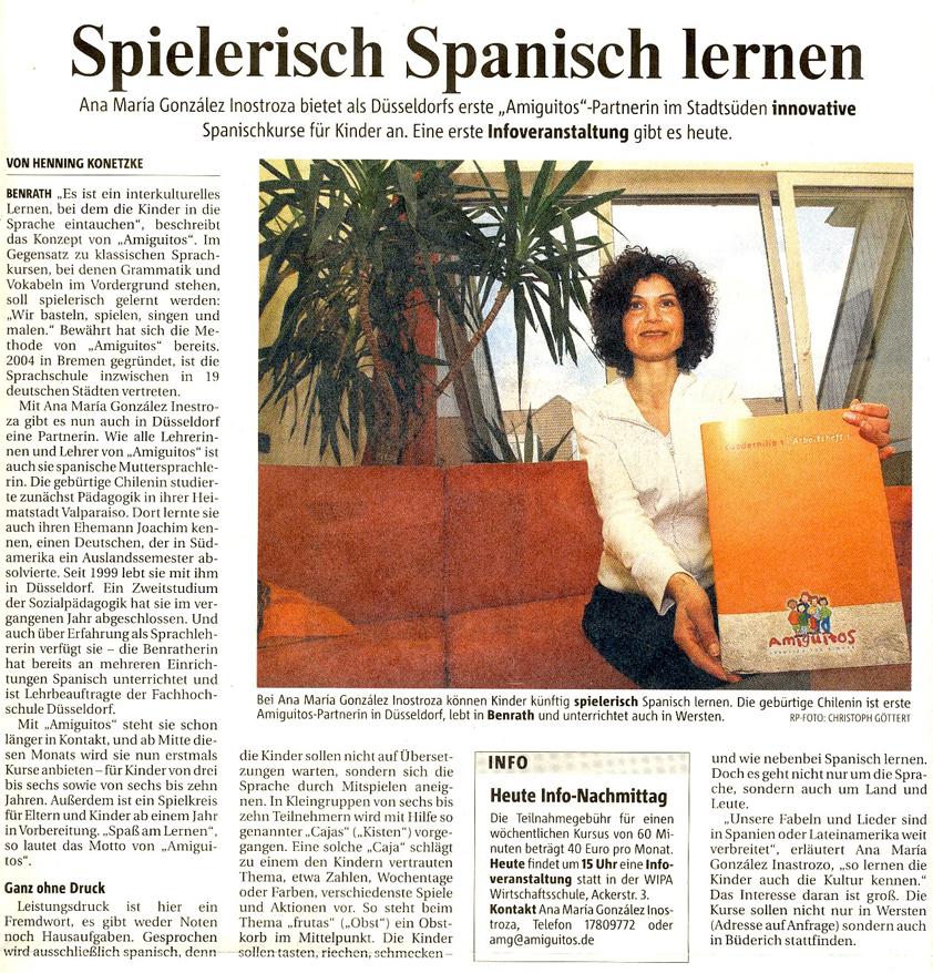 Rheinische Post, 23.4.2008