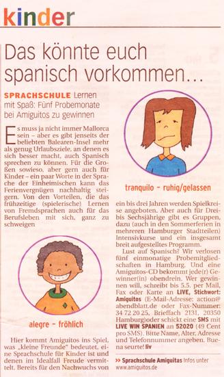 Hamburger Abendblatt, 30.4.2008