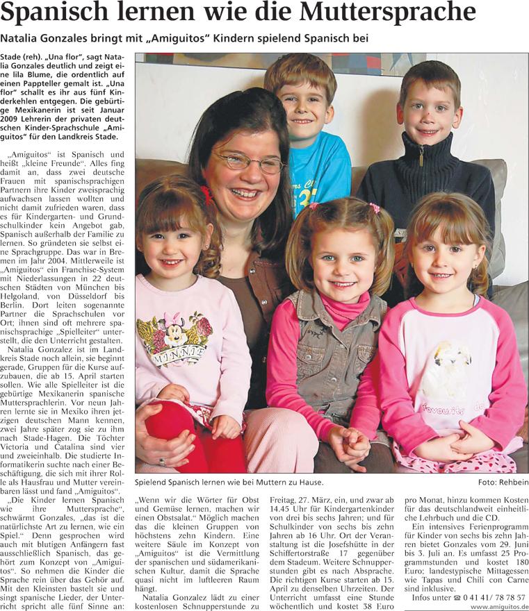 Stader Tageblatt, 25.3.2009