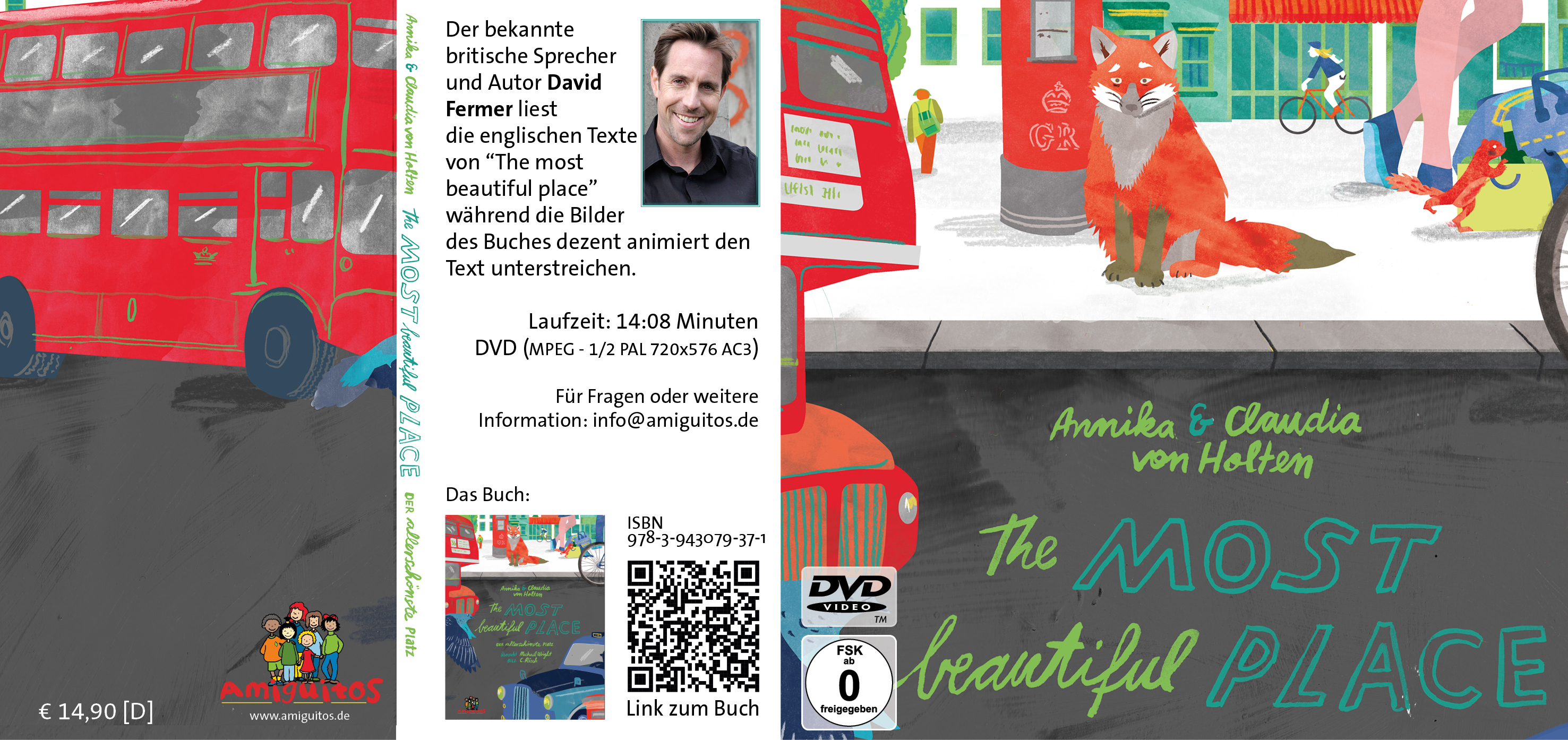 "Video-Bilderbuchkino ""The most beautiful place"" (DVD)"