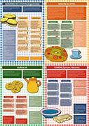 Poster Rezepte für Weihnachtsgebäck