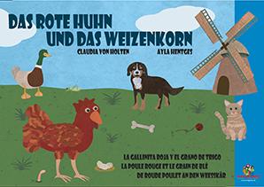 Das rote Huhn und das Weizenkorn